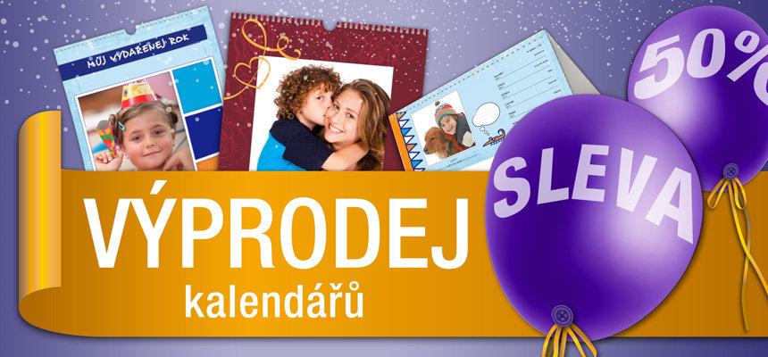 Výprodej fotokalendářů