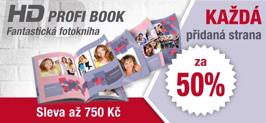 HD PROFI BOOK přidaná strana -50 %