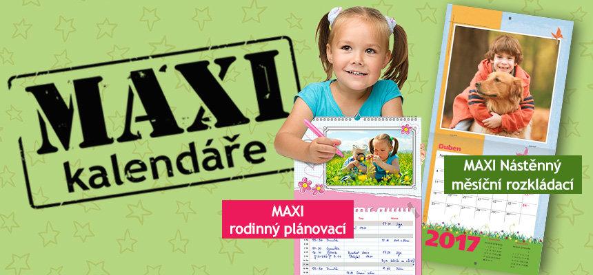 MAXI kalendáře