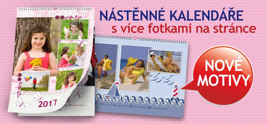Kalendáře s více fotkami na stránce