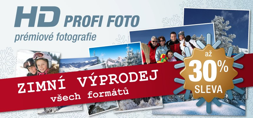 HD PROFI FOTO skvělá sleva až 30 %