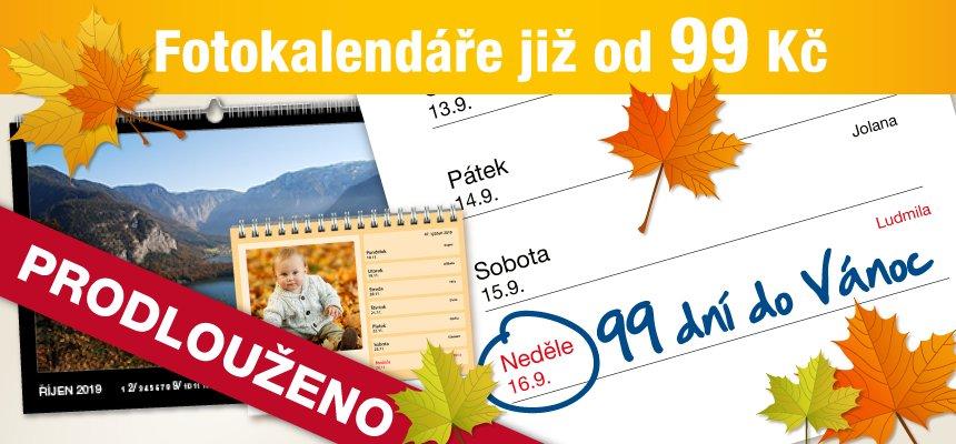 Kalendáře od 99 Kč