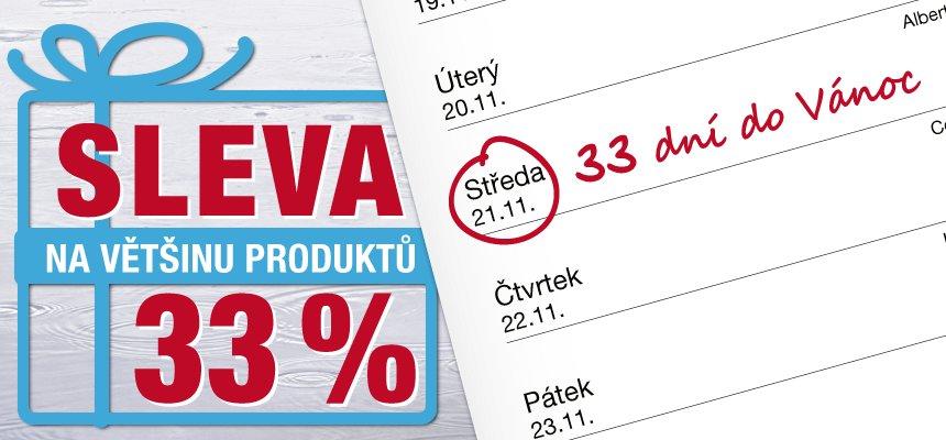 Produkty s 33% slevou