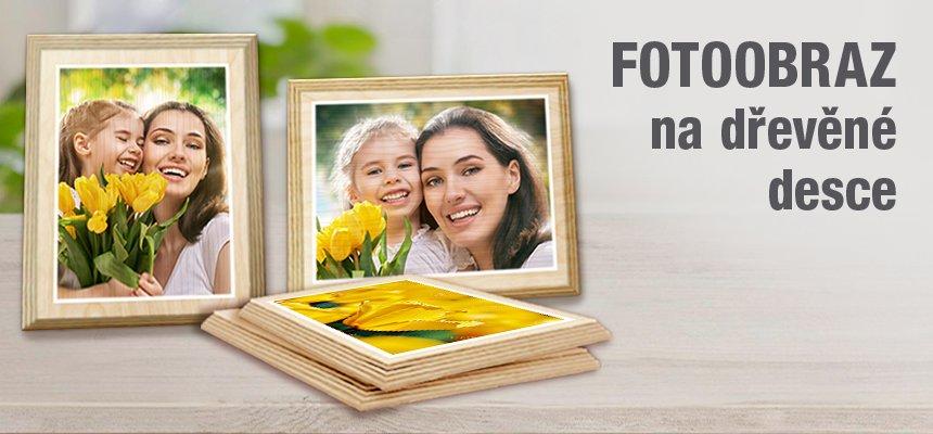 Fotoobraz na dřevěné desce