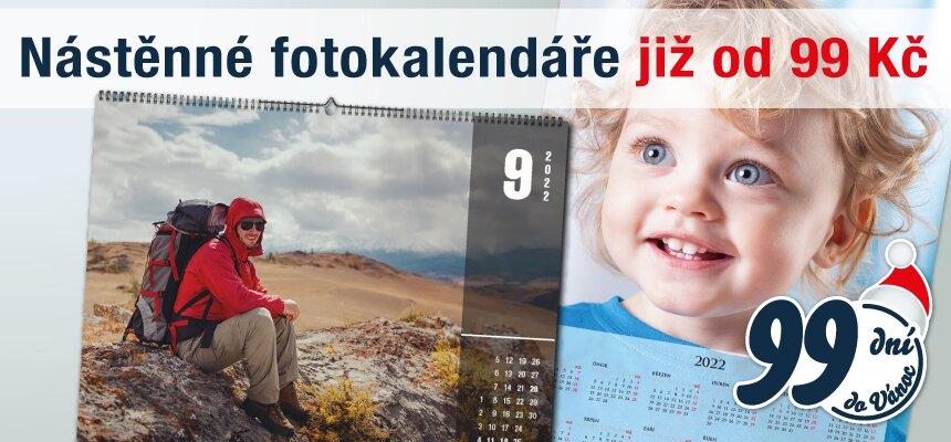 Nástěnné kalendáře jen za 99 Kč