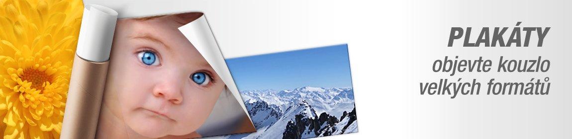 Plakáty z vlastních fotografií až do rozměru 100x300 cm