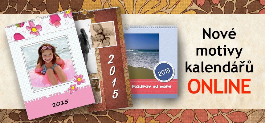 Nové motivy kalendářů