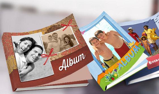 Fotoknihy z vlastních fotek