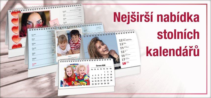 Stolní fotokalendáře